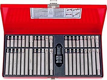 king tony 1043CQ - Caja de puntas para destornillador ...