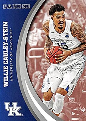 Willie Cauley-Stein basketball card (Kentucky Wildcats) 2016 Panini Team Collection #49