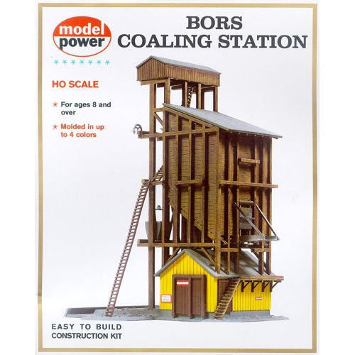 (Model Power HO Scale Building Kit - Coaling Station)