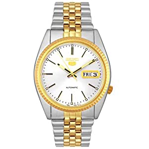 Seiko Men's SNXJ90 5 Automatic Two-Tone Stainless Steel Watch