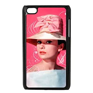 C-EUR Customized Phone Case Of Audrey Hepburn For Ipod Touch 4