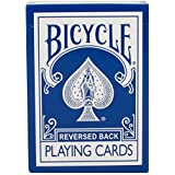 Bicycle Rider Back Reverse Blue Ice Deck (Generation 2) with Gaff Cards for Magic by Magic Makers