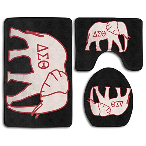 Car Mats Delta - POP GSGETSA Delta Sigma Theta Kitchen Bedroom Bathroom Anti-Skid Area Rugs Pad Bathroom Door Mat Indoor Outdoor Doormat