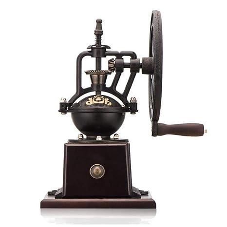 KCaNaMgAl Molienda de café, máquina de café Manual en casa Rueda de la Fortuna Vintage