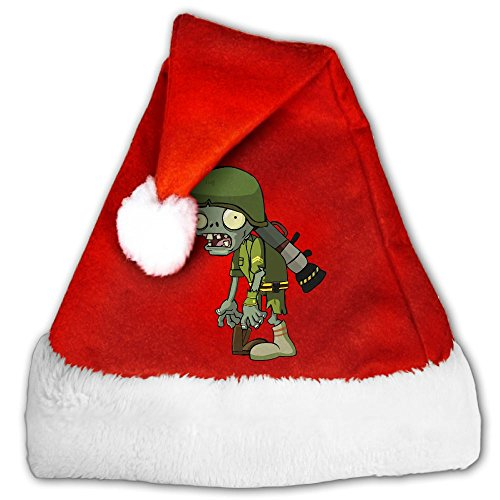 Foot Soldier Child Costume (Footsoldier Flora Zombies Christmas Santa Claus Hat For Unisex For Kids)