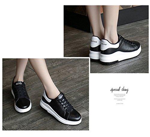 Ocio Zapatos Planos Respirables Huecos Salvajes Black