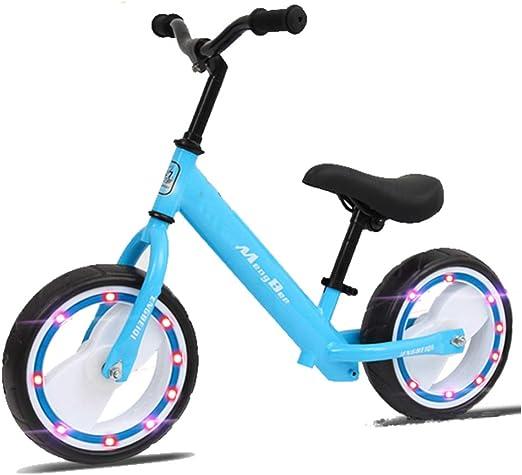 Balance Bike Bicicleta De Equilibrio Evolutivo, Kids Sin Pedales Aprende A Andar En Bicicleta Rueda Ligera De 2 A 6 Años,Blue: Amazon.es: Hogar