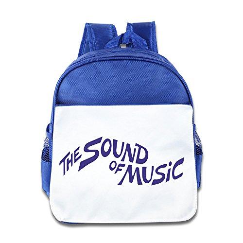 Hello-Robott The Sound Of Music School Bag Backpack RoyalBlue
