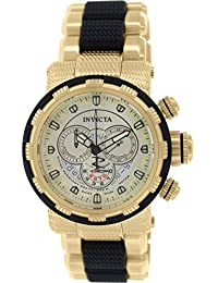 Invicta Men's Reserve 80300 Gold Stainless-Steel Swiss Chronograph Watch