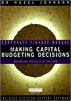 Making Capital Budgeting Decisions: Maximising the Value of the Firm (Corporate Finance Manual)