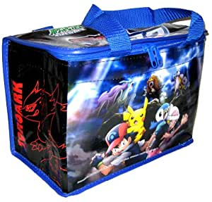 Pokemon DP Black White Master of Illusions Lunch Cooler Bag Zoroark Zorua Raikou Entei Suicune