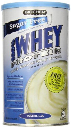 Biochem 100% Whey Protein sans sucre, vanille, 11,8 once