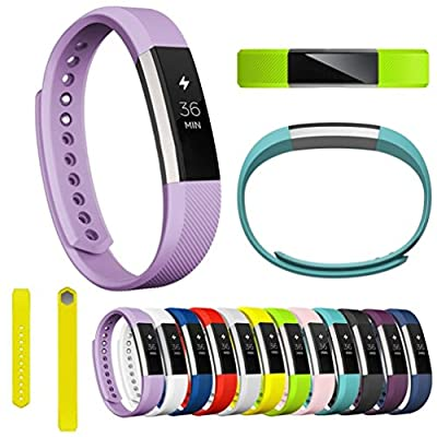 Fitbit Alta Band, AutumnFall Soft Silicone Watch band Wrist strap for Fitbit Alta Smart Watch
