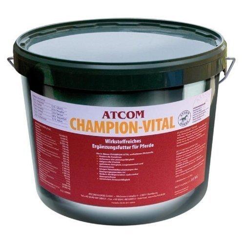 Atcom Champion-Vital - Ergänzungsfuttermittel für Pferde - 10 kg