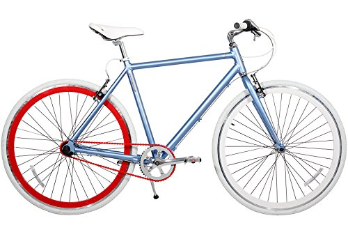 Best price for Gama Bikes Speed Cat 700c Duo 3 Speed Internal Shimano Urban Commuter Road Bicycle, 21-Inch frame, Denim