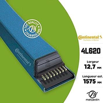 Correa cortadora 4L620 Continental Kevlar - 12,7 x 7,2 x 1575 mm ...