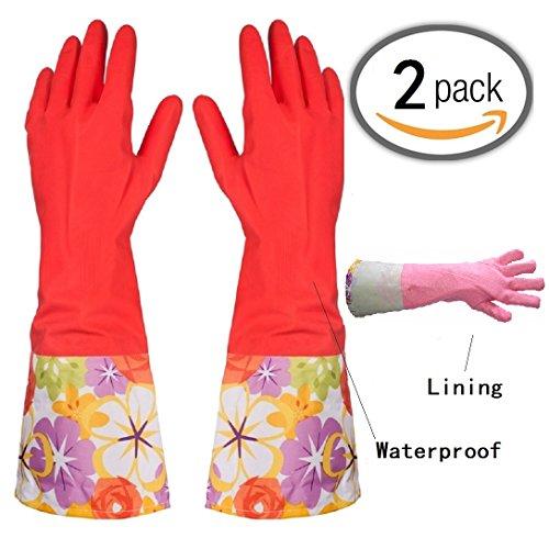 Gloves Thickening Waterproof Dishwashing Latex product image