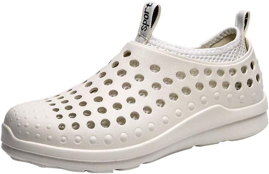 ღLILICATღ Nuevos Hombre Verano Ahuecar Conjuntos Transpirables De Sandalias para Pies Casual Tres Usos Zapatos De Playa Planos: Amazon.es: Deportes y aire libre