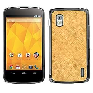 - Sandy Artist Canvas Summer Sun/ Duro Snap en el tel??fono celular de la cubierta - Cao - For LG Nexus 4 E960