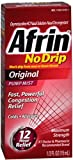 Afrin No Drip Original Nasal Decongestant Pump Mist 15 mL (Pack of 7)