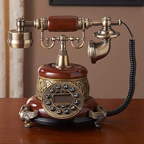 SMC Fixed Telephone European Fashion Telephone Retro Phone Nostalgia Creative Decorative Home Decorations Home from SMC Telephone