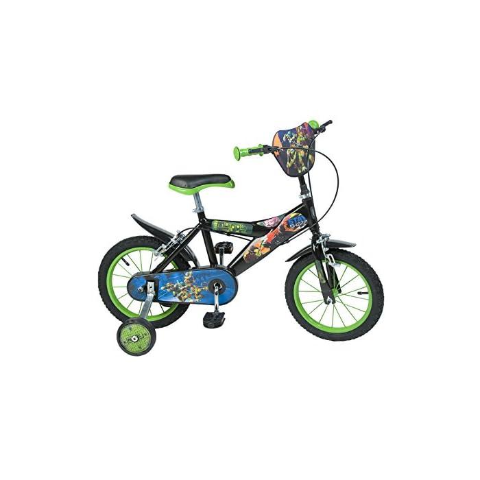 TORTUGAS NINJA – Bicicleta de 14″ (Toimsa 1424)