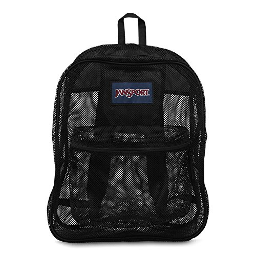 JANSPORT Unisex Mesh Pack, Black, One Size