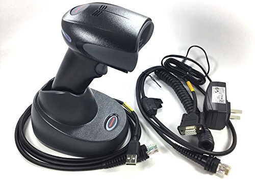 G-HD (High Density) Wireless Area-Imaging Barcode Scanner Kit (1D, 2D and PDF), Includes Cradle, Power Supply, RS232 Cable and USB Cord ()