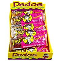 Indy Dedos - Spicy and Sour Mexican tamarind candy snack -box of 12