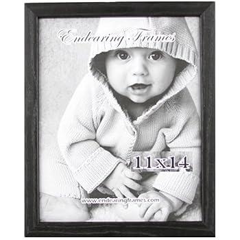 Amazon.com - Endearing Frames 11x14 Regal Black Wood Frame 3-pack ...