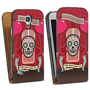 Diseño para Samsung Galaxy S4 Mini I9195 DesignTasche Downflip black - Mausolée Rouge