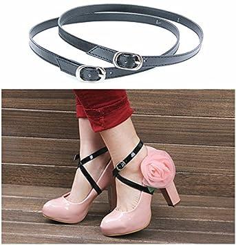Detachable PU Leather Shoe Straps