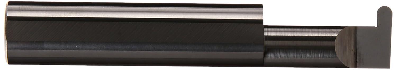 0.3750 Shank Diameter Solid Carbide Tool 0.375 Minimum Bore Diameter 0.055//0.057 Groove Width Micro 100 FR-055-16 Full Radius Grooving Tool 2.5 Overall Length 1.000 Maximum Bore Depth 0.100 Projection
