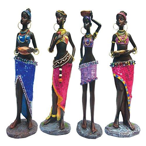 Rockin Gear Statue African Art Figurines 10