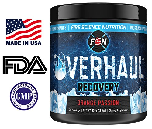 Fire Science Nutrition BCAA s give you Maximum Endurance, Extreme Recovery and Lean Muscle Reservation – Made in the USA – 30 Servings