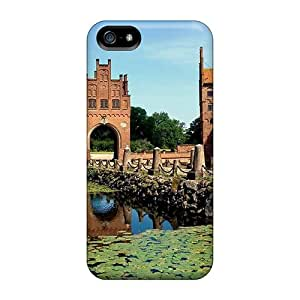 Hot Tpye Wonderful Castle In Demark Cases Covers For Iphone 5/5s