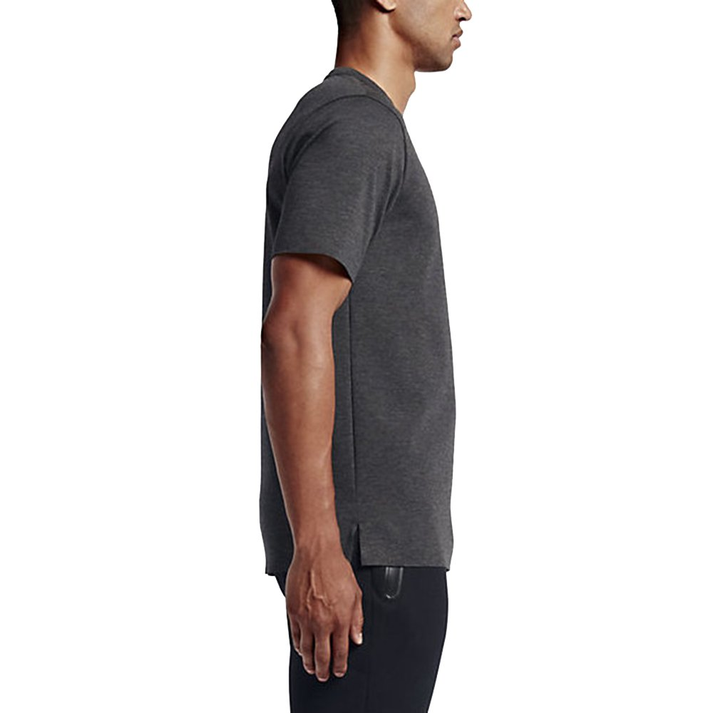 d77e63f8e47a Nike Air Jordan 23 Lux Pocket Mens T-Shirt Black Heather 802277 032 at  Amazon Men s Clothing store