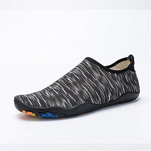 Beach - Schuhe Sind Einfach Zu Absorbieren Wasser Schwimmen, Schuhe, Outdoor - Schuhe, Farbe: Weiß, Schwarz, Blau, Grün, Pink, Tarnung,Schwarz,Eu36