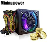 xlpace 1600W 1800W Bitcoin Mining Machine ATX Power Supply For BTC ETH Antminer S7 S9 D3 R4 (Style 1)
