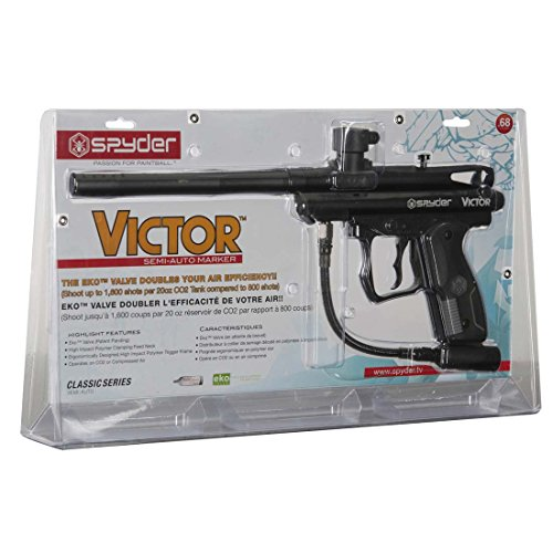 Spyder Victor Semi-Auto Paintball Marker (Diamond/Black)