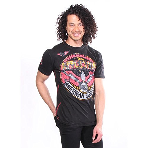Affliction - T-shirt AC Bonded - Maschi