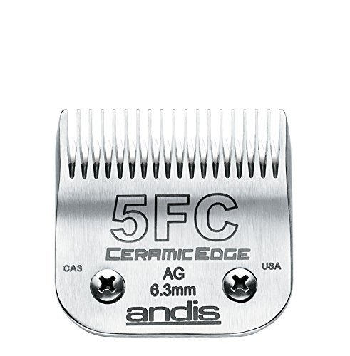 ANDIS COMPANY - CERAMIC EDGE BLADE (SIZE 5FC) ''Ctg: DOG PRODUCTS - DOG GROOMING - CLIPPERS/PARTS'' WITH A BONUS BLADE BRUSH