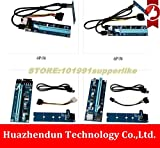 Computer Cables Arrivals M.2 Yoton to PCI-E X16 Slot USB 3.0 Transfer Riser Card +16X Riser Card for Graphics Card for BTC Miner Mining - (Cable Length: 6pin X16 M.2 Card)