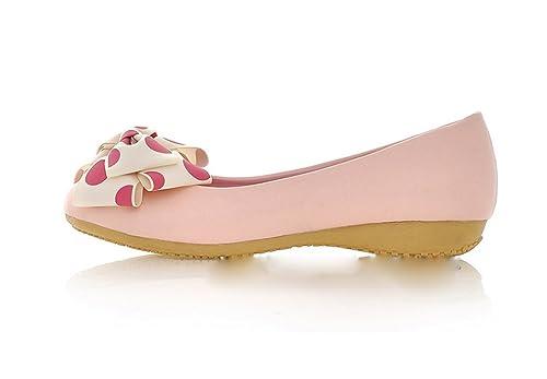 Gaorui Mujer Zapatos Planos Arco Muñeca Piel PU Zapatillas Lazo Bailarina Casual: Amazon.es: Zapatos y complementos