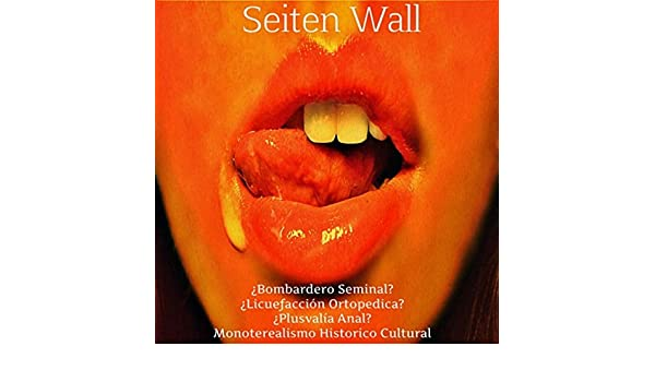 Monoterealismo Historico Cultural: ¿Bombardero Seminal, Licuefacción Ortopedica, Plusvalía Anal? [Explicit] de Seiten Wall en Amazon Music - Amazon.es