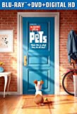 The Secret Life of Pets [Blu-ray + DVD + Digital HD]