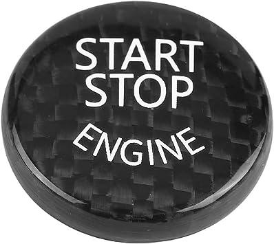 Keenso Auto Schalter Aufkleber Motor Start Stop Schalter Abdeckung Für F20 F21 F22 F23 F30 F31 F32 F33 F10 F11 Auto