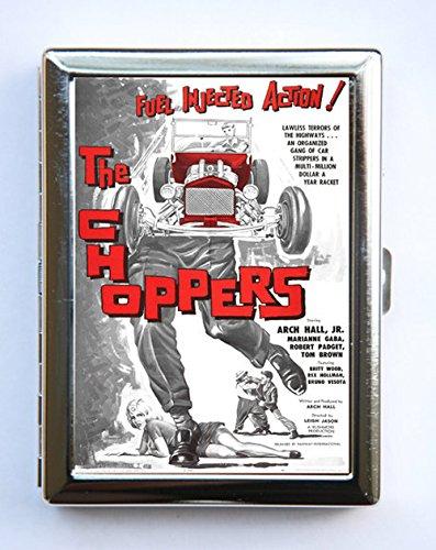 - Choppers Hot Rod Cigarette Case Wallet Business Card Holder rockabilly rock n roll