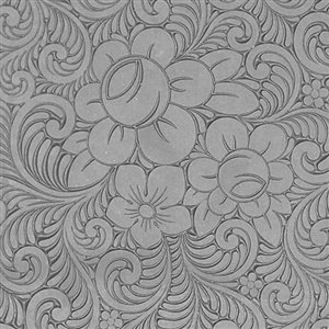 (Cool Tools - Flexible Texture Tile - Roses & Swirls Reverse - 4