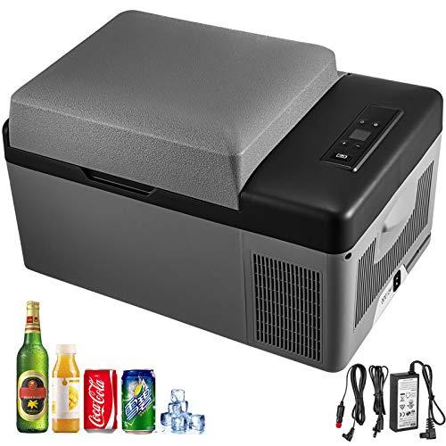 🥇 Moracle Compresor 20L Refrigerador Pequeño Portátil Refrigerador del automóvil Congelador Vehículo